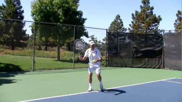 Tennis Forehand Groundstroke Topspin Tennis Topspin Forehand